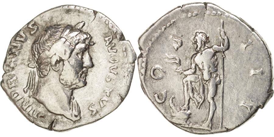 Ancient Coins - Hadrian (117-138), Denarius, RIC 157