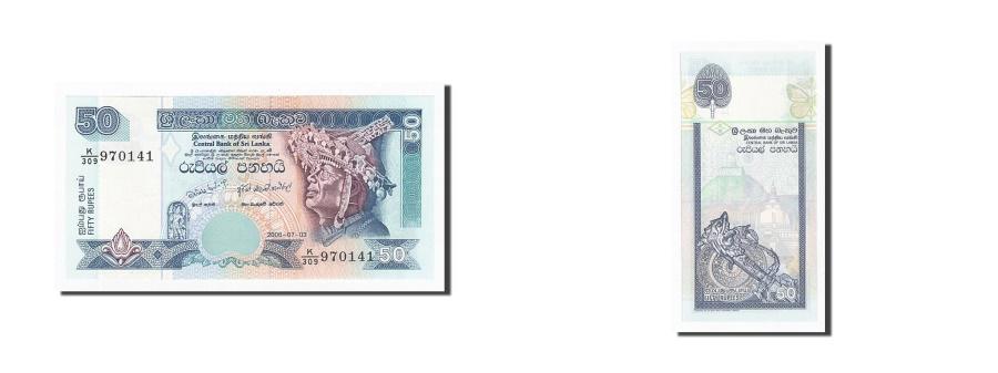 World Coins - Sri Lanka, 50 Rupees, 2006, 2006-07-03, KM:117e, UNC(65-70)