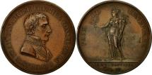World Coins - France, Medal, Paix de Lunéville, French Consulate, History, 1801, Andrieu