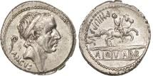 Marcia, Denarius, Rome, AU(55-58), Silver, Crawford:425/1