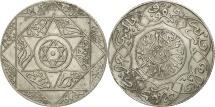 Morocco, 'Abd al-Aziz, 2-1/2 Dirhams, 1898, Paris, EF(40-45), Silver, KM:11.2