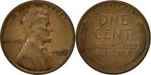 Us Coins - United States, Lincoln Cent, Cent, 1955, U.S. Mint, Philadelphia, EF(40-45)
