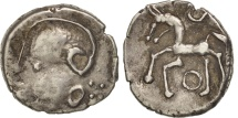 Aedui, Quinarius, EF(40-45), Silver, Delestrée:manque.