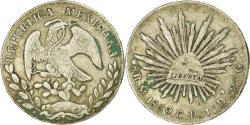 World Coins - Coin, Mexico, 8 Reales, 1869, Mexico City, , Silver, KM:377.10