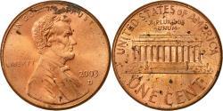 Us Coins - United States, Lincoln Cent, Cent, 2003, U.S. Mint, Denver, , Copper