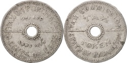 Us Coins - United States, Token, Washington D.C., Taxe Token