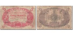 World Coins - Guadeloupe, 5 Francs, 1945, 1945, VF(20-25), KM:7e