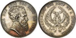 World Coins - France, Token, Société des Amis des Arts de Lyon, 1839, Barre,