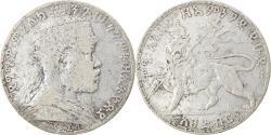 World Coins - Coin, Ethiopia, Menelik II, Birr, 1903, Paris, , Silver, KM:19