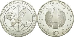 World Coins - Coin, GERMANY - FEDERAL REPUBLIC, 10 Euro, 2002, Stuttgart, Germany, AU(55-58)