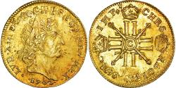 Ancient Coins - Coin,France,Louis XIV,Louis d'or aux 8 L et aux insignes,1702,Caen,