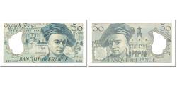 World Coins - France, 50 Francs, Quentin de La Tour, 1988, Undated (1988), UNC(65-70)