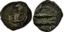 Ancient Coins - Coin, Spain, Semis, Gades, EF(40-45), Copper