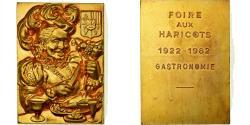World Coins - France, Medal, Gastronomie, Foire aux Haricots, 1962, , Gilt Bronze