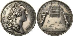 World Coins - France, Medal, Louis XV, Construction de la Place Saint Sulpice, 1912, Duvivier