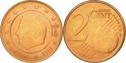World Coins - Belgium, 2 Euro Cent, 2003, , Copper Plated Steel, KM:225