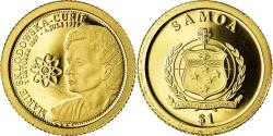 World Coins - Coin, Samoa, Tala, 2009, B.H. Mayer, Marie Curie, , Gold, KM:187