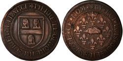 World Coins - France, Token, Louis XII, Ile-de-France, Pierre Legendre, Trésorier de France