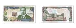World Coins - Kenya, 10 Shillings, 1993, KM #24e, 1993-07-01, UNC(63), AZ