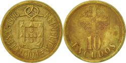 World Coins - Portugal, 10 Escudos, 1996, , Nickel-brass, KM:633