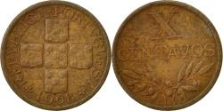 World Coins - Coin, Portugal, 10 Centavos, 1968, , Bronze, KM:583