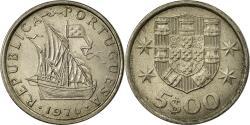World Coins - Coin, Portugal, 5 Escudos, 1976, , Copper-nickel, KM:591