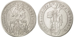 World Coins - AUSTRIAN STATES, 1/4 Thaler, 1695, KM #282, , Silver, 7.20