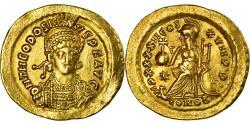 Coin, Theodosius II, Solidus, Constantinople, , Gold, RIC:286