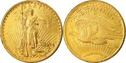 Us Coins - Coin, United States, Saint-Gaudens, $20, Double Eagle, 1914, U.S. Mint, San