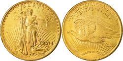 Us Coins - Coin, United States, Saint-Gaudens, $20, Double Eagle, 1914, U.S. Mint, San