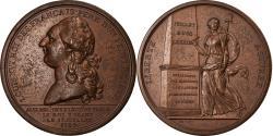 World Coins - France, Medal, Louis XVI à l'Assemblée des Electeurs de Paris, History, 1789