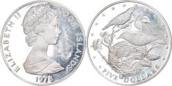 World Coins - Cook Islands, Elizabeth II, 5 Dollars, 1978, Franklin Mint, USA,