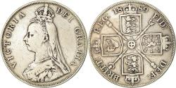 World Coins - Coin, Great Britain, Victoria, Double Florin, 1889, , Silver, KM:763