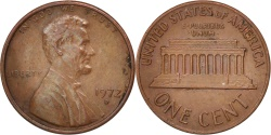 Us Coins - United States, Lincoln Cent, 1972, Denver, , KM:201