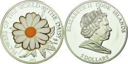World Coins - Coin, Cook Islands, Elizabeth II, 5 Dollars, 2011, Franklin Mint,