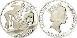 World Coins - Coin, Australia, Elizabeth II, 20 Dollars, 1993, Proof, , Silver