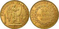 World Coins - Coin, France, Génie, 20 Francs, 1896, Paris, , Gold, KM:825