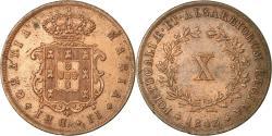 World Coins - Coin, Portugal, Maria II, 10 Reis, 1843, , Copper, KM:481