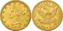 Us Coins - Coin, United States, Coronet Head, $10, Eagle, 1895, U.S. Mint, Philadelphia