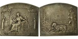 World Coins - France, Medal, Exposition Internationale des Industries Textiles, Tourcoing