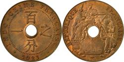 World Coins - Coin, FRENCH INDO-CHINA, Cent, 1923, Poissy, , Bronze, KM:12.3