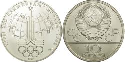 Ancient Coins - Coin, Russia, 10 Roubles, 1977, Saint-Petersburg, , Silver, KM:150