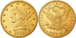 Us Coins - Coin, United States, Coronet Head, $10, Eagle, 1905, Philadelphia, , Gold