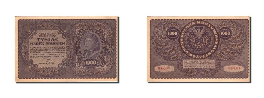 World Coins - Poland, 1000 Marek, 1919, 1919-08-23, KM:29, UNC(63)