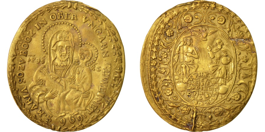 World Coins - Germany, Medal, St Maria, Religions & beliefs, 1696, , Brass, 41