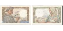 France, 10 Francs, 1941, KM:99e, 1943-03-25, EF(40-45), Fayette:8.8