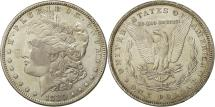 Us Coins - United States, Morgan Dollar, Dollar, 1880, U.S. Mint, Philadelphia, AU(50-53)