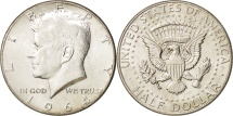 Us Coins - United States, Kennedy Half Dollar, 1964, Philadelphia, MS(60-62), KM:202