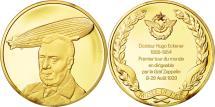 World Coins - France, Medal, L'Histoire de la Conquête de l'Air, Docteur Hugo Eckener