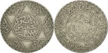 Morocco, Moulay al-Hasan I, 2-1/2 Dirhams, 1894, Paris, EF(40-45), Silver, KM:6